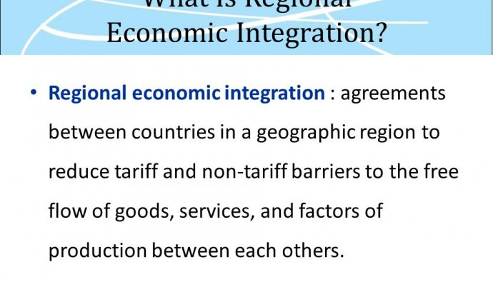 Regional Economic Integration - ppt download