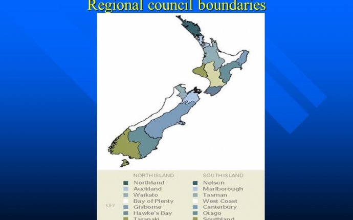 Regional Council boundaries