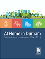 At Home in Durham Cover
